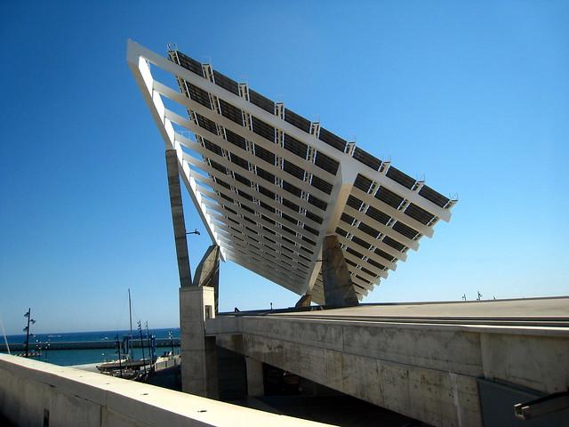 Solar pergola barcelona flickr photo sharing - Solar barcelona ...