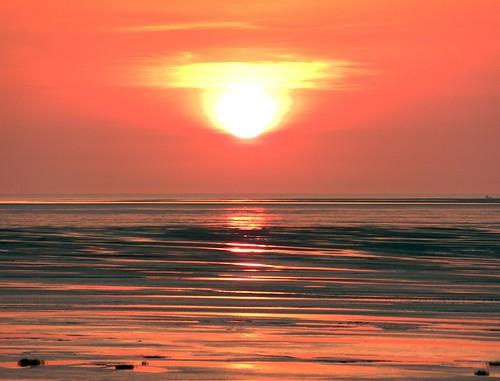 Sunset On Beach 14