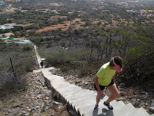 Climbing Hooiberg Mountain Aruba Flickr Photo Sharing