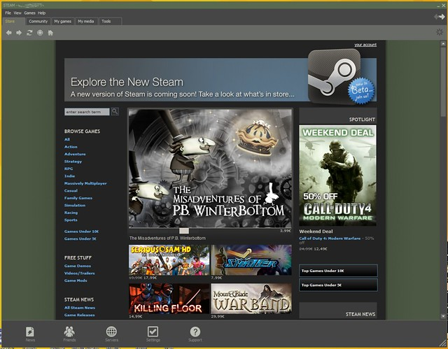 Valve Steam, giochi, Linux, Ubuntu