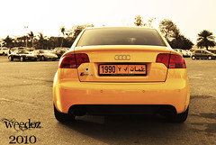 The Yellow Affect - The Audi RS4 - Oman