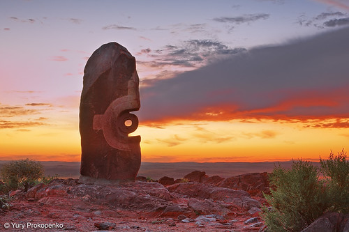 Broken Hill Sunset by -yury-