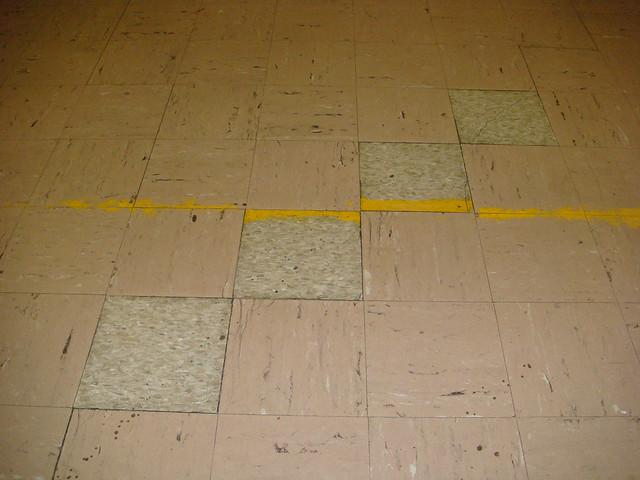 Asbestos Floor Tile X9 Asbestos Non Asbestos Floor Tile Flickr Photo Sharing