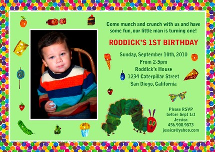 Flickriver DesignDreamEtsys photos tagged with babyshowerinvitation – Eric Carle Birthday Invitations