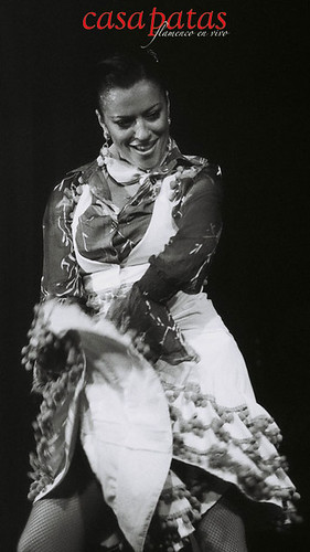 La bailaora Anabel Moreno en Casa Patas. Foto: Martín Guerrero