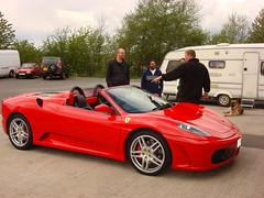 sports car(0.0), automobile(1.0), vehicle(1.0), automotive design(1.0), ferrari f430(1.0), ferrari 360(1.0), land vehicle(1.0), luxury vehicle(1.0),