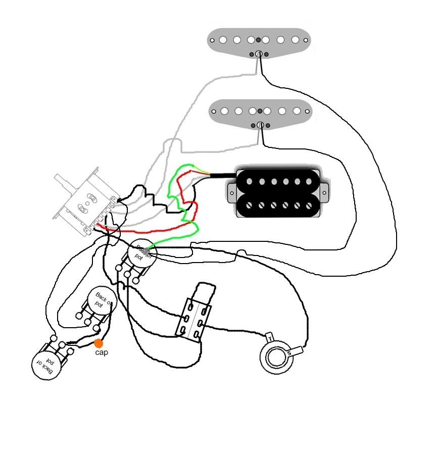 wiring diagram for dean flying v guitar  wiring  free