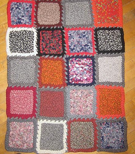 Patchwork Wool Rug