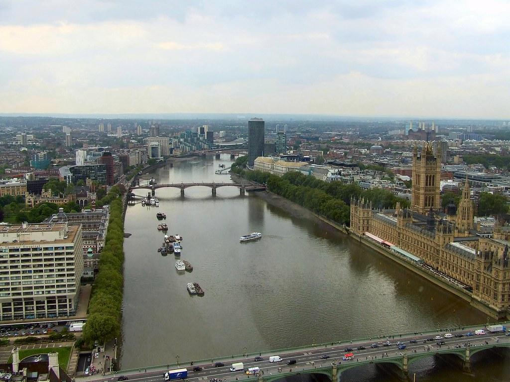 London Eye Thames South