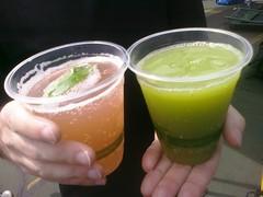 caipiroska(0.0), citrus(0.0), produce(0.0), food(0.0), caipirinha(0.0), margarita(0.0), mai tai(0.0), non-alcoholic beverage(1.0), liqueur(1.0), lemon juice(1.0), limeade(1.0), drink(1.0), juice(1.0), alcoholic beverage(1.0),