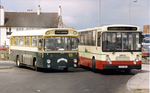 old and new rossendale buses in cannock 1989 flickr photo sharing. Black Bedroom Furniture Sets. Home Design Ideas