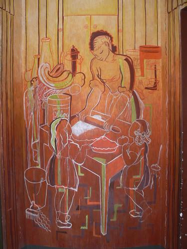 Art deco buildings coit tower murals telegraph hill for Coit tower mural artists
