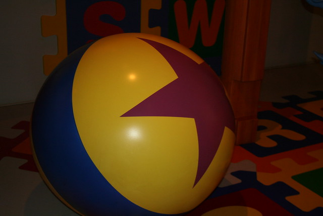 Toy Story Ball : Luxo jr ball toy story midway mania flickr photo