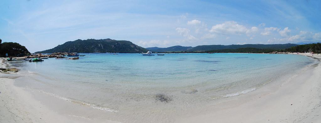 Пляжи порто веккьо франция