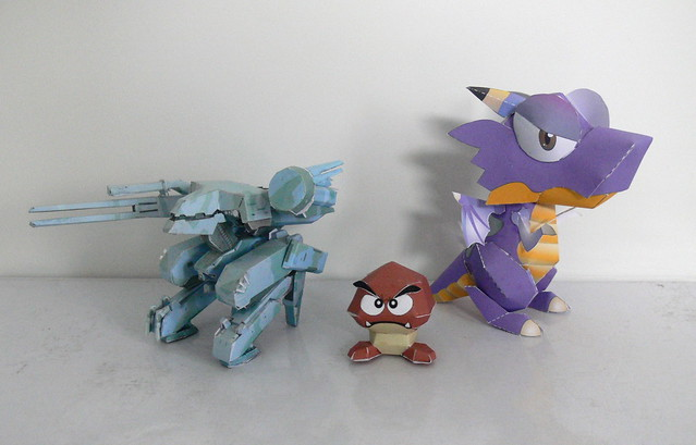 4683231083 65fdf7b8c7 z 19 of the Most Adorable and Bizarre Papercraft Creations