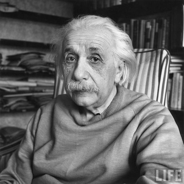 Albert Einstein, by Alfred Eisenstaedt 1949
