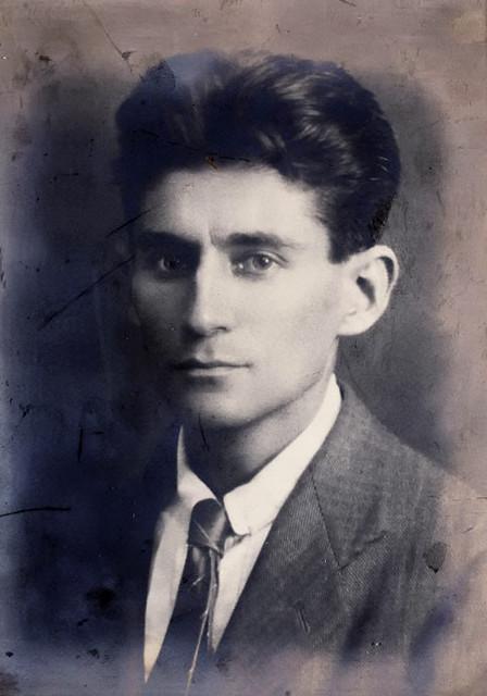 Franz Kafka, photographer unknown