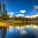 Blue Sky in the Colorado Mountains by Ryan C Wright