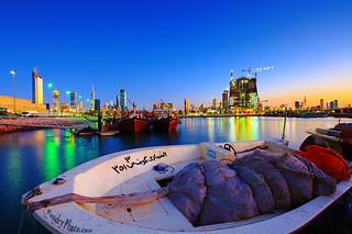Kuwait City @ night