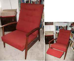 Mid-Century Modern Teak Recliner | Flickr - Photo Sharing!