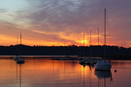 water alexandria sunrise river landscape boats virginia va riverscape bellhavenmarina