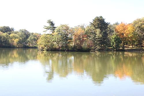 autumn providence rhodeisland rogerwilliamspark pleasurelake