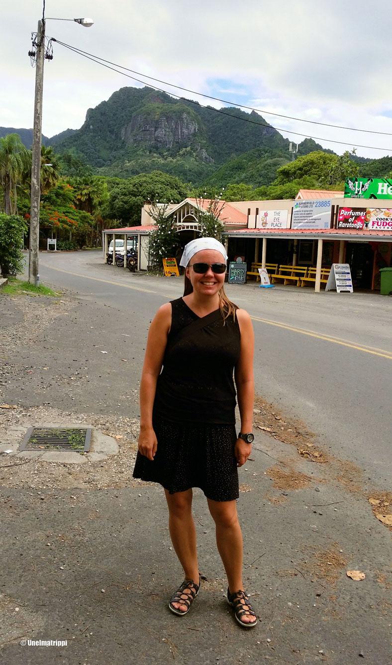 Jenni kadulla, Rarotonga, Cookinsaaret
