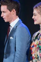 Fantastic Beasts and Where to Find Them Japan Premiere Red Carpet: Eddie Redmayne & Alison Sudol