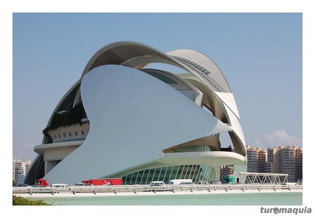 Cidade das Artes e da Ciência - Valencia