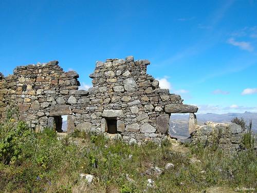 Marcahuamachuco: Ventanas, Sector El Castillo