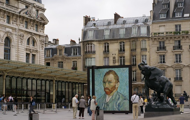Paris, Musée d'Orsay und Umgebung (Musée d'Orsay and environment)