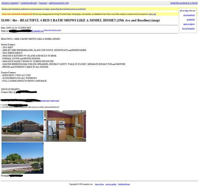 craigslist arizona