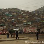 Building into the Hills - San Juan de Miraflores, Lima, Peru