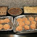 Linzer Cookies, Chocolate Pecan Pie, Baklava and Peanut Butter Cookies
