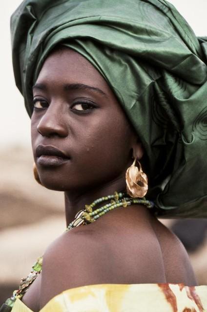 Jeune femme. Mali