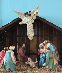 decor(0.0), christmas decoration(0.0), manger(1.0), nativity scene(1.0),