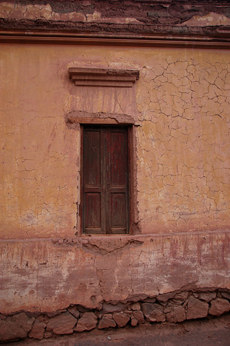 adobe wall in Purmamarca