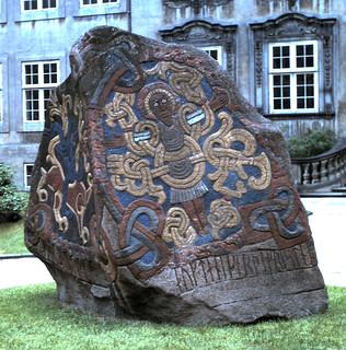 Runic stone - National Museum, Copenhagen