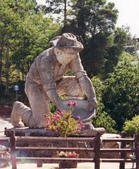 Auburn CA  - Gold Rush Statue Memorial