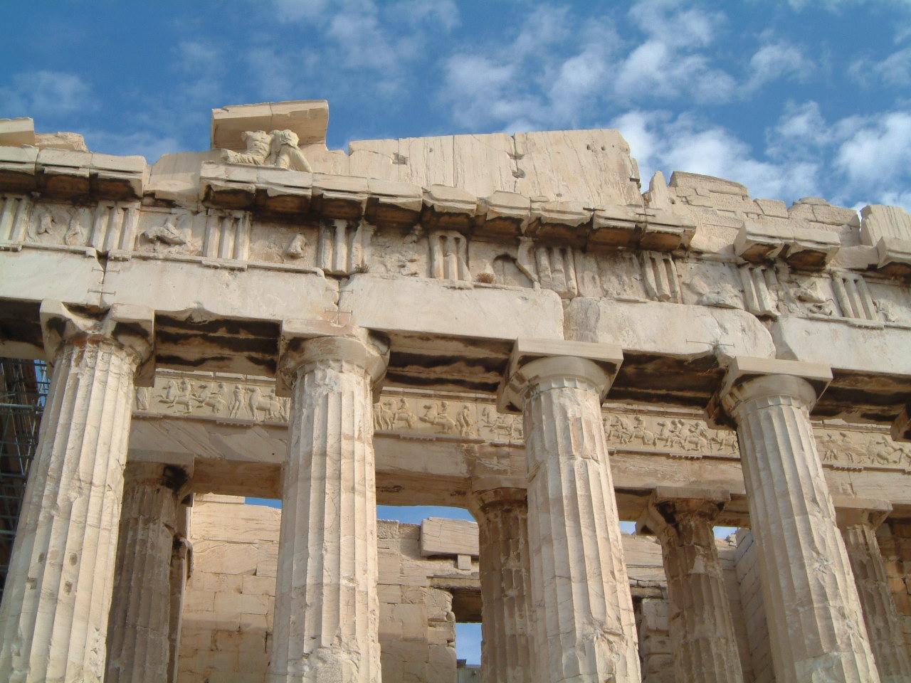 Frieze Of The Parthenon  Athens