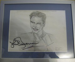 autograph(1.0), art(1.0), sketch(1.0), picture frame(1.0), drawing(1.0),