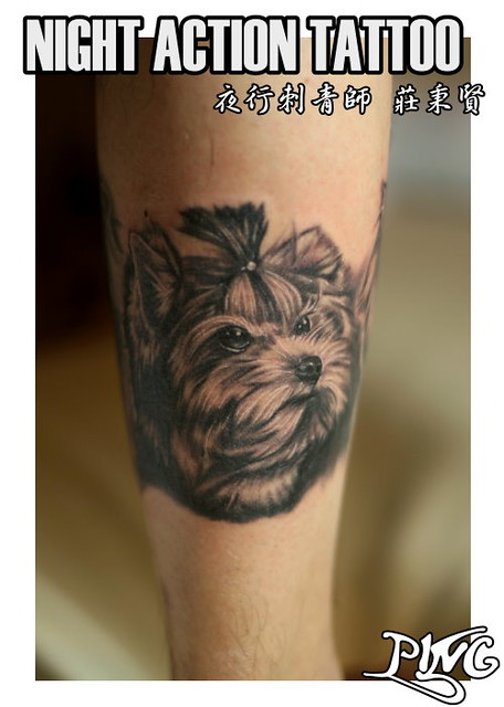 Yorkie Tattoos