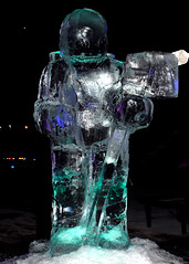 Ice Sculpture. Credit Claire Brown