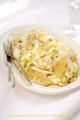 Salade d'endives et poire