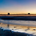 Imperial Beach Pier Sunset Pano by Beejay Chan