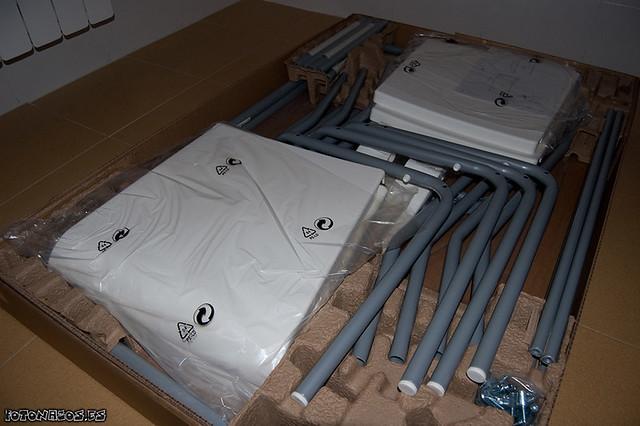 Montaje Mesa y sillas Laver de IKEA  Flickr - Photo Sharing!
