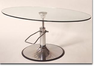 Hydra Adjustable Oval Top Table