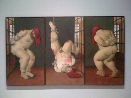 "From Botero's ""Abu Ghraib"" series (photo: da5ide, flickr)"