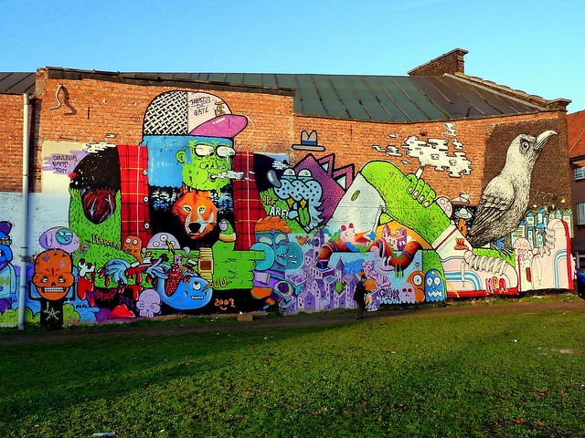 graffiti | Resto . Ring .Kans . Zire .Erakles .Jean Special . Roa . Pester |ghent . belgium