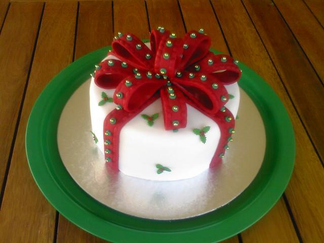 Fondant Cake For Christmas : Christmas Fondant Cake Flickr - Photo Sharing!